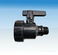 PP robinet à boisseau sphérique 3/4 pouces DN 20 PN 10