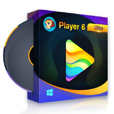 DVDFab Player 6 Ultra [2020] DVD / Blu-ray / 4K Ultra HD ✔️ Genuine License Key