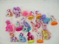 VTG Hasbro mini PVC My Little Pony lot of 16
