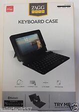 Zagg Keyboard Case Folio ELLIPSIS 7 Tablet Bluetooth Protective Stand Ultra-Slim