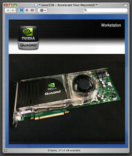 nVidia Quadro FX5600 1.5GB Pro Graphics Video Card For Apple Mac Pro 3,1-5,1
