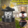 LED Solar Powered LED Lighthouse Statue Rotating Garden Yard Patio Light Decor
