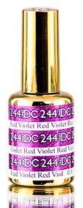 DND DC Mermaid Glitter Gel 0.5 oz LED/UV DND Gel Polish - Pick Any.