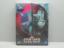 CAPTAIN AMERICA: CIVIL WAR steelbook WEET COLLECTION (sealed) FULL SLIP - A1