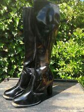 Ladies High Heel Pvc Boots UK Size 5 Fetish