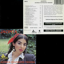 JACINTA  autres chansons yiddish  /  OCORA