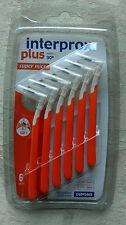 3 X Interprox Plus orange 2.0mm Super micro Interdental Brush