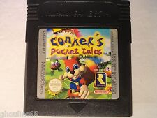 CONKER'S POCKET TALES GAME BOY CONKER POCKET TALES NINTENDO GAME BOY