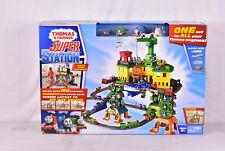 Thomas and Friends Super Station Railway Train Track Set