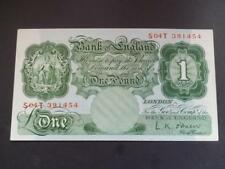 L.K.O'BRIEN 1955 ONE POUND NOTE REPLACEMENT PREFIX EXTREMELY FINE DUGGLEBY B274.