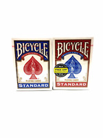 BICYCLE PLAYING CARDS STANDARD-2 DECKS (1 Blue/ 1 Red)POKER GAME AND ENTERTAIN