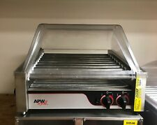 24 Hot Dog Roller With Sneeze Guard Apw Hr 31s