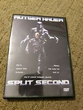 Split Second DVD Rutger Hauer ~ Excellent condition Like New