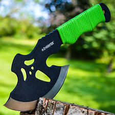 """10"""" SURVIVAL CAMPING TOMAHAWK THROWING AXE BATTLE Hatchet hunting knife tactical"""