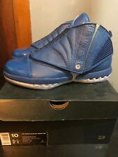 pretty nice 82dd7 1fc6c AIR JORDAN 16 RETRO TROPHY ROOM 854255-416 BLUE RARE LIMITED 5000 MADE