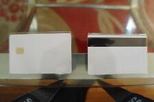 Qualità SLE4442 magnetica contatto IC Chip SMART CARD 4442 PVC BIANCO 50PCS
