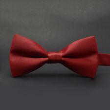 Wedding Ties Adjustable Satin Men Tuxedo Necktie Classic Party Novelty Bow Tie