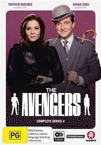 The Avengers : Complete Series 4 - Brand new sealed 7DVD set, Region 4!