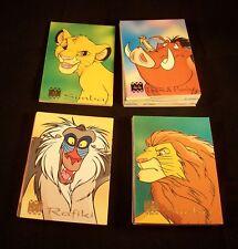 Disney's THE LION KING Complete Set  Panini