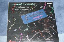 Greatful Dead- Laser Disc 3 side,Ticket to New Year's Pioneer 145 min.Very RARE!