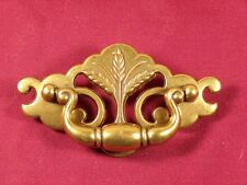 """Vintage Pull Wheat Keeler Brass Co. 3"""" Centers Hardware"""