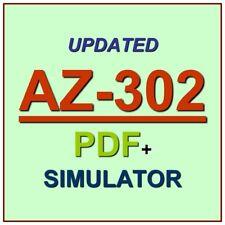 Latest AZ-302 Verified Practice Test Exam QA SIM PDF+Simulator
