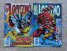 Comics, Lobezno, nº 3 y 5, Vol. II, Marvel, Forum, Planeta DeAgostini, 1995/96