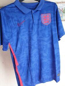 England Away BLUE Euro National Team SHIRT Men's SIZE Large