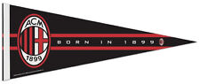 AC MILAN Official Serie A Football Soccer Premium Felt Collectors PENNANT