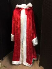 Luxury Red Velvet Santa Robe Fully Lined