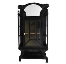 vitrine  laquée noire époque  Art nouveau 1900