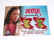 2009 Breygent DEXTER #DC17 Lt Maria LaGuerta LAUREN VELEZ Wardrobe Swatch/365 OZ