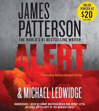New Audio Book James Patterson ALERT Michael Bennett Novel Unabridged CDs