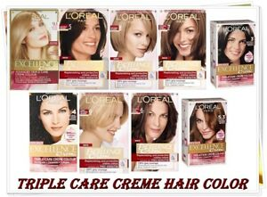 L'Oreal Excellence Creme Hair Colour Different Shades 28 SHADES
