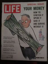 Life Magazine Your Money How to Stretch It Spend It Save It April 1962