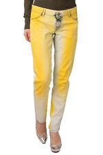 RRP €285 JUST CAVALLI Jeans Size 29 Stretch Colour Treated Faded Effect Zip Fly
