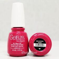 Gelaze China Glaze LED UV Nail Gel Color Polish 0.5 oz - Make an Entrance 81640