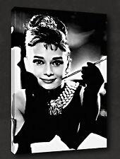 Audrey Hepburn Película icónica LONA pared arte Foto impresión moderna Listo Para Colgar