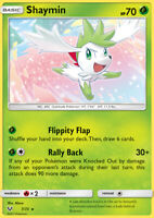 Shaymin 7/73 SM Shining Legends Rare Holo Pokemon Card NEAR MINT TCG