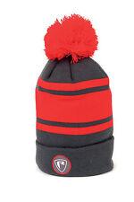 Fox Rage Red Grey Bobble Hat NPR169 Mütze Angelmütze Wintermütze Hat