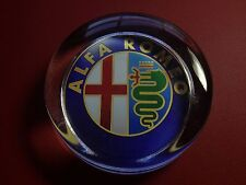 ALFA ROMEO  CARS` 70mm  GLASS PAPERWEIGHT