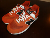 New Balance 574 shoes mens new sneakers ML574VTL Orange
