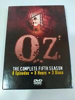 OZ Quinta Stagione 5 Completa - 3 X DVD Spagnolo Inglese Regione 1