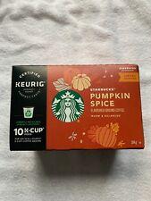Canada Starbucks Keurig Single Serve K Cups Pumpkin Spice  - Box of 10