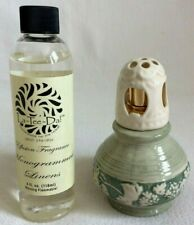 """Small Fragrance Effusion Lamp with 4 Oz Frag """"Candle"""" Alternative Cap & Crown"""