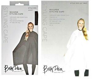 "Betty Dain Hair Cutting Cloth Whisper Styling Cape  #199S  #199S-60""  FREE SHIP"