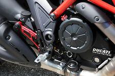 LighTech Adjustable Rearsets Rear Sets Ducati Diavel w/Folding Pegs Track System
