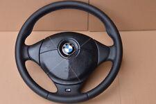 Z3 e36 e31 e34 E39 E38 M3 M5 BMW SPORT STEERING WHEEL Leather M Stitch NAPPA