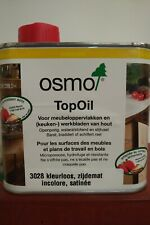 TopOil Osmo 3028 0.5L pour contact alimentaire