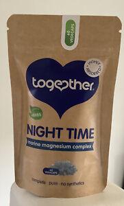 Night Time Complex - Together Health - Marine Magnesium - Vegan - 60 Vegecaps